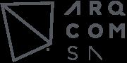 Logo Arqcomsa Gris